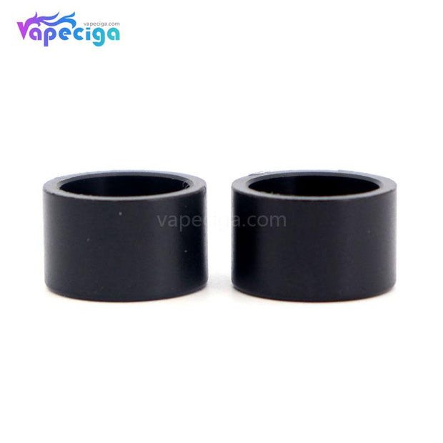 Black YUHETEC Replacement Drip Tip for Smok Stick V9 Max 2PCs Real Shots