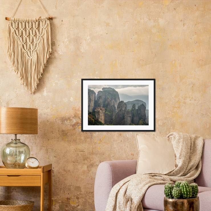 Meteora—Framed prints