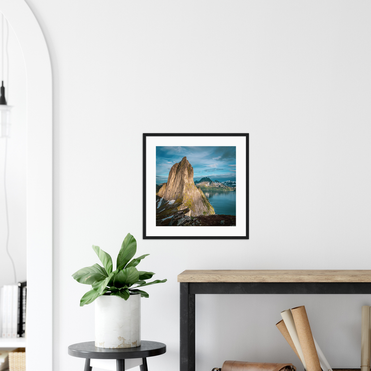 Hesten—Framed prints