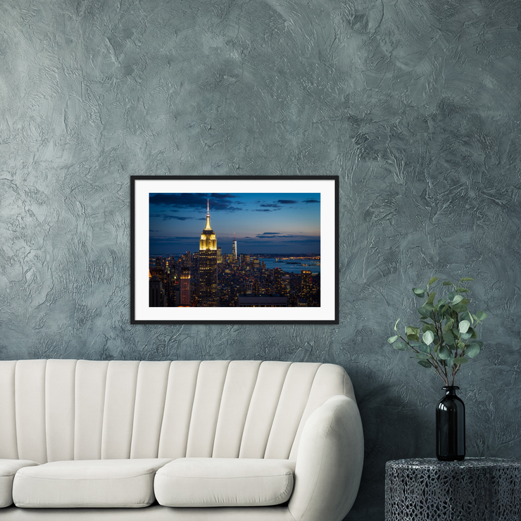 Manhattan—Framed prints