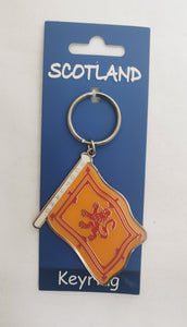 Scottish Lion Rampant Keyring