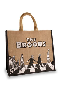 The Broons Abbey Road Large Jute Shopping Bag