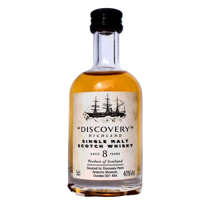 Discovery Highland Single Malt 8 yo 40% ABV 5cl Miniature