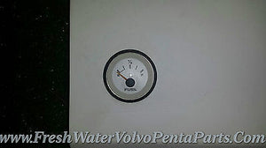 Volvo Penta White Face Gauge assembly gauge cluster V8 Tach Oil Temp Volt Fuel