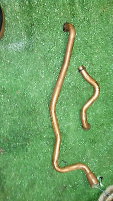 Volvo Penta 251A AQ271 A AQ 271 C copper cooling pipes  855518 855371 raw water