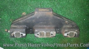 Volvo Penta OSCO 5805 V8 exhaust manifold 1979-1993 Starboard or port side