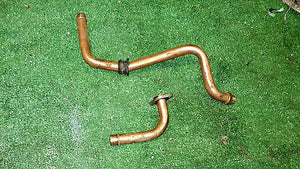 Volvo Penta 251A AQ271 A AQ 271 C copper cooling pipes  855615 855438 raw water