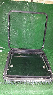 Taylor Made Cuddy Boat Hatch 19 3/4 x 19 3/4 rough opening 22 1/2 X 22 1/2