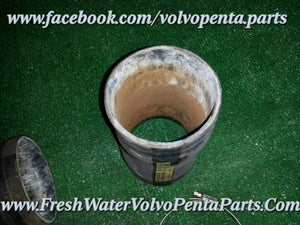 Volvo Penta 2 Exhaust boots & Clamps 3 3/4 - 4 inch Exhaust  834751 V8 270  280 290 Dp-A