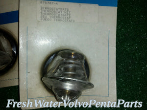 New Volvo Penta Thermostat Kit P/n 875787  New old Stock