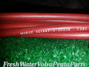 Morse Teleflex Shift Throttle Cable 300 inch 301947-3-300IN 7381
