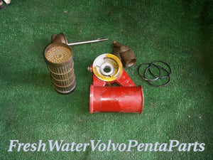 Volvo Penta oil cooler 824515 AQ171 C 251 Aq171 Pressure Tested