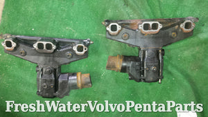 Volvo Penta V8 5.7L 5.0L Exhaust Manifolds & Risers 1994- later HGE4035 HGE3784