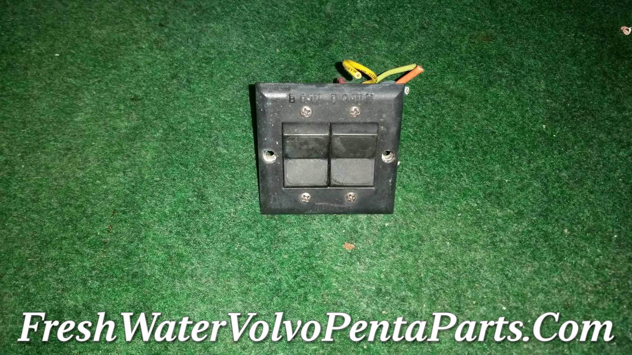 ... Bennett hydraulic Trim Tab 12 volt Motor & pump V 351 v351, Switch and  wiring ...