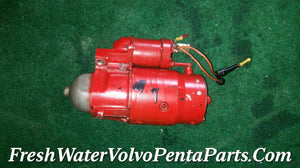 Volvo Penta marine Starter with 102 hours 1989 for V8 350 305 5.0 5.7 liter V8 Standard 13 inch Flywheel