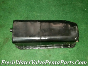 Volvo Penta GM V8 305  350  high capacity  Oil  pan Port side dipstick