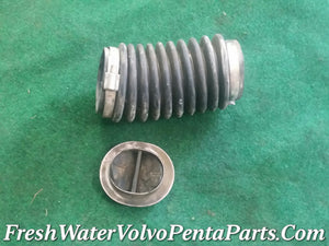 Volvo Penta 280 Exhaust bellow internal Flapper & exhaust Bellow