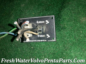 Volvo Penta Tilt Trim Switch No Chips  P/N 828739 P/N 853067 Instrument panel