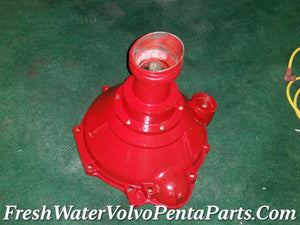 Volvo Penta Bellhousing B20 block Course 10 spline P/N 824850 Early Mechanically Perfect 4 Cylinder