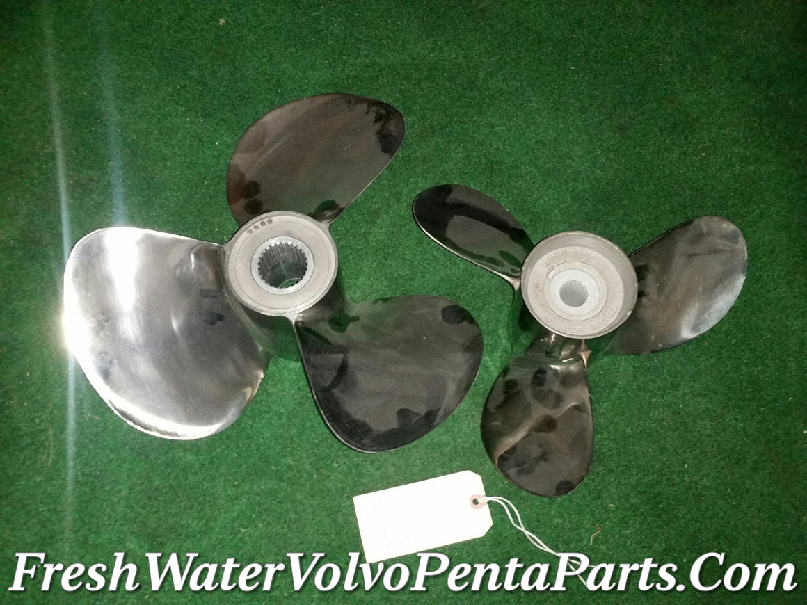 Volvo Penta C4 Stainless steel Dp Propellers 290 Dp-A Dp-B Dp-C Dp-D Dp-E  Balanced polished