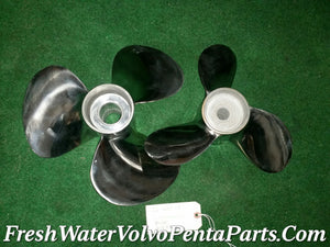 Dorsey Volvo Penta C4 Stainless steel Dp Propellers 290 Dp-A Dp-B Dp-C Dp-D Dp-E  Balanced polished
