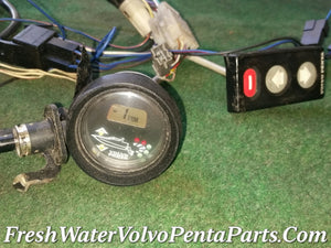 Volvo Penta Trim  Gauge Trimmer Complete system Harness 872571 872498 873617 853846