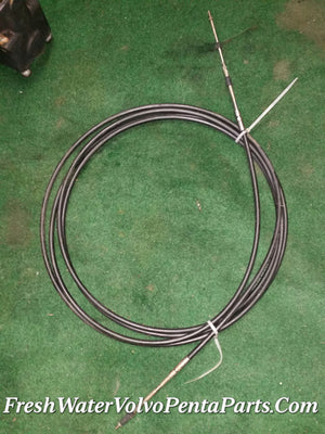 Volvo Penta 19ft shift throttle control  cable 333 series  P/n 3857114