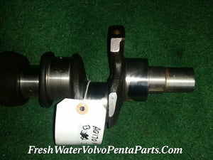 Volvo Penta Aq170 Crankshaft straight 6 b30 Crank P/n 430010 or 461324