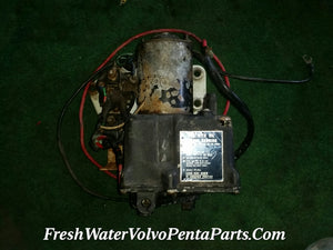 Rare Volvo Penta 280PT 280 Pt Power Trim Trim Pump P/n 852563 w Bracket