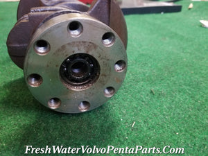 Volvo Penta B23 forged Crankshaft 80mm stroke Rear thrust 63mm Mains Aq145A bb145