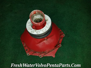 VOLVO PENTA 270 280 290 GM BELLHOUSING FLYWHEEL COVER 10 SPLINE 853978