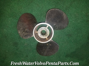 Volvo Penta 15 X 19 RH Aq 280  290 Michigan Stainless Steel  Prop SSV-192  Propeller