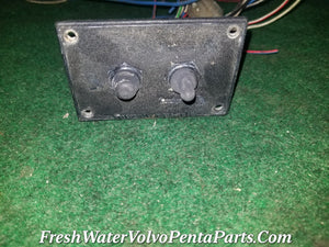 Volvo Penta Tilt Trim Switch  Up / Down  & Hold down Safety switch  No Chips