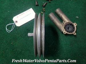 New Volvo Penta 4.3GS Raw water Pump P/n  21214596  3862487, 3812697, 3858229