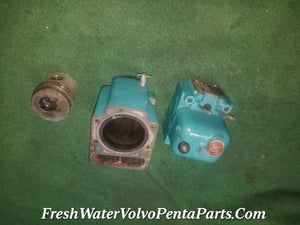 VOLVO PENTA MD11 MD17 CYLINDER HEAD 833824 PISTON CYLINDER BLOCK 833830