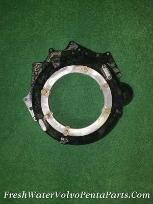 Volvo Penta Early GM V8 V6  Bellhousing 2 Piece Flywheel Cover