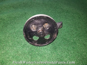 VOLVO PENTA SHERWOOD RAW SEA WATER PUMP V8 BRACKET MOUNT V PULLEY
