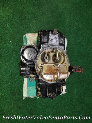 Volvo Penta Holley 4 Barrel 715 CFM Marine carburetor 350 V8 List 80408 0563