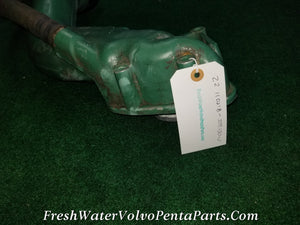Volvo Penta Diesel Exhaust Collector Downpipe Exhasut Pipe P/n 3581130