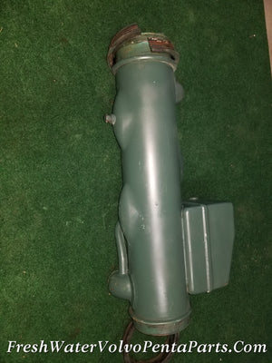 Volvo Penta Diesel TAMD41 Heat exchanger P/n 838702 Pressure Tested