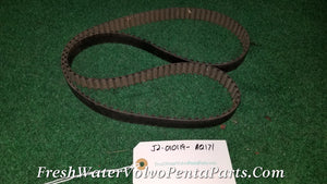 Volvo Penta Aq171 A 171 C 171A 171C  p/n 855506 Round tooth Timing Belt DOHC