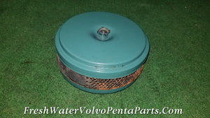 Volvo Penta AQAD40 B Air Cleaner housing 22004848 accepts filter 858488  KAD32P