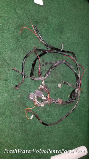 Volvo Penta AQAD40 B Engine Wiring harness & Relays 846 762  P/N 846060 Cable Trunk