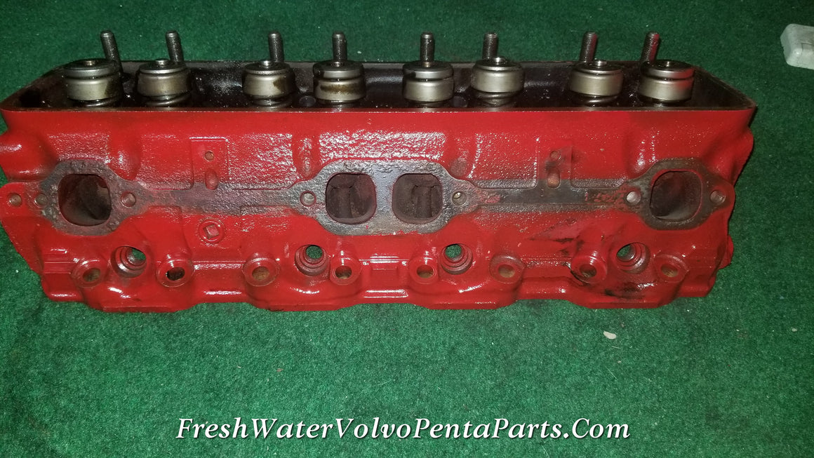 Gm 350 5.7L V8 Cylinder head running take offs Volvo Penta Mercruiser 14096217