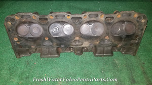 1 Gm 305 5.0L V8 Cylinder head 14022601 Volvo Penta , Mercruiser OMC running take off