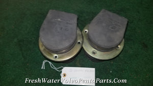 Thru Hull exhaust tips 3 to 4 inch  EG 300 Brass w Flappers