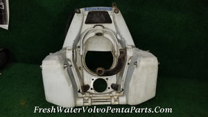 Volvo Penta 280PT 280 power Trim V8 Transom shield 850924 steering 850488 Trim brace
