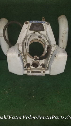 VOLVO PENTA 280PT 280 POWER TRIM V8 TRANSOM SHIELD 850924 STEERING & Y-PIPE
