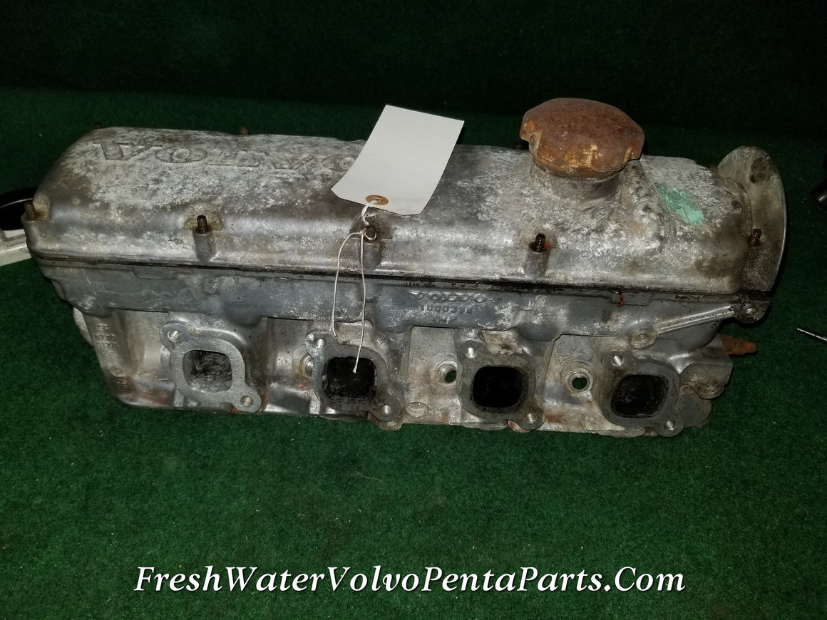 Volvo Penta aq140 AQ125 Cylinder head 1000398 4 cylinder Matched D Cam Available