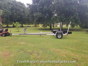 Load master Loadmaster 19- 22 Ft Aluminum I-Beam Single Axle Trailer
